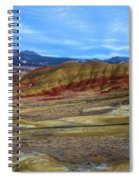 Painted Sky Over Painted Hills Spiral Notebook