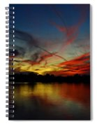 Painted Sky  Spiral Notebook