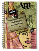 Painting Is Self-discovery Spiral Notebook