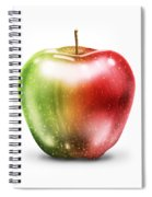 Painting Of Apple Spiral Notebook