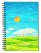 Painting Of Nature In Spring And Summer Spiral Notebook