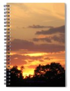 Painting The Sky  Spiral Notebook