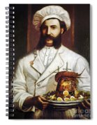 Palace Hotel Chef Spiral Notebook