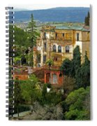 Palace Of The Arabian King - Ronda Spiral Notebook