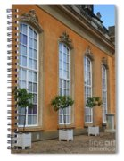 Palace Windows And Topiaries Spiral Notebook