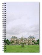 Palais Du Luxembourg Spiral Notebook