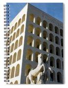 Palazzo Della Civilta' Romana Spiral Notebook