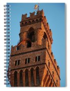 Palazzo Vecchio In Florence  Spiral Notebook