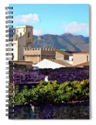 Palermo View Spiral Notebook