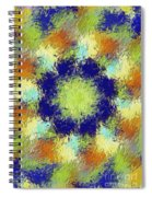 Pallet Of Colors Spiral Notebook