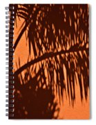 Palm Frond Abstract Spiral Notebook