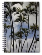 Palm Trees Oahu Spiral Notebook
