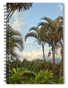 Palms In Costa Rica Spiral Notebook
