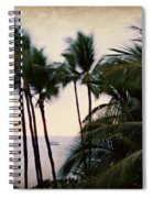 Palms In The Breeze Spiral Notebook