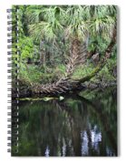 Palms On The River Spiral Notebook