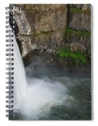 Palouse Falls In Spring Spiral Notebook
