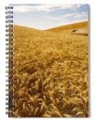 Palouse Wheat Spiral Notebook
