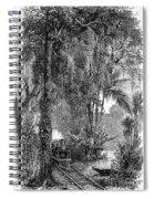 Panama Railway, 1875 Spiral Notebook