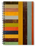 Panel Abstract - Digital Compilation Spiral Notebook
