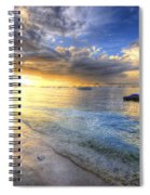 Panglao Island Sunrise Spiral Notebook