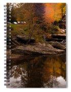 Panorama  Glade Creek Mill Spiral Notebook
