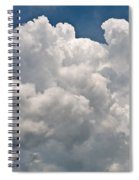 Panoramic Clouds Number 1 Spiral Notebook