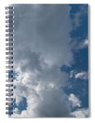 Panoramic Clouds Number 1o Spiral Notebook