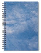 Panoramic Clouds Number 4 Spiral Notebook