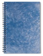 Panoramic Clouds Number 7 Spiral Notebook