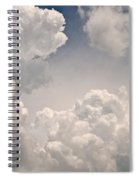 Panoramic Clouds Number 9 Spiral Notebook