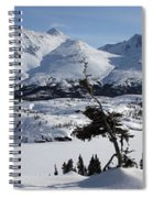 Panoramic Of An Unnamed Mountain Taken Spiral Notebook