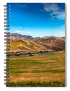 Panoramic Range Land Spiral Notebook