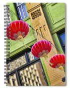 Paper Lanterns Spiral Notebook