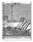 Paper Machine, C1880 Spiral Notebook