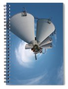 Paper Mill In The Sky Spiral Notebook