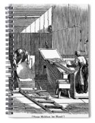 Papermaking, 1833 Spiral Notebook