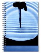 Parabolic Reflection Spiral Notebook