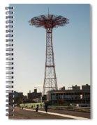 Parachute Drop Spiral Notebook