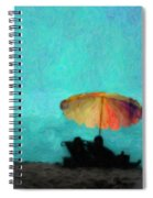 Paradise By The Sea Spiral Notebook