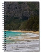 Paradise With A Ocean View Spiral Notebook