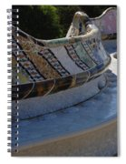 Parc Guell Spain Spiral Notebook