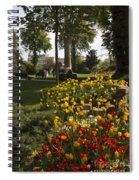 Parc Les Invalides In Spring Spiral Notebook