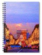 Paris 04 Spiral Notebook