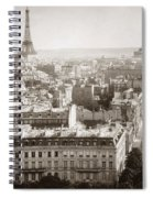 Paris: Aerial View, 1900 Spiral Notebook