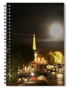 Paris At Night Spiral Notebook