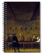 Paris: Billiards, 1725 Spiral Notebook