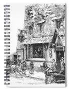 Paris: Cafe, 1889 Spiral Notebook