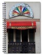 Paris Casino Spiral Notebook