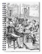 Paris: Chat Noir, 1889 Spiral Notebook