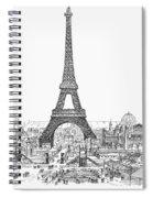 Paris Exhibition, 1889 Spiral Notebook